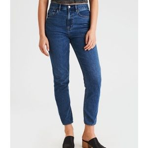 High waisted mom jeans American Eagle denim 4 reg